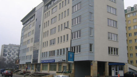 Leszno 12 office building Warsaw Wola