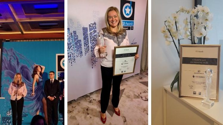 CIJ Awards Poland 2019 Best Local Real Estate Agency AXI IMMO Group