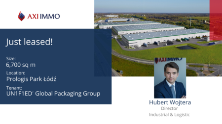 UN1F1ED2 Global Packaging Group rozgościł się w Prologis Park Łódź doradza AXI IMMO